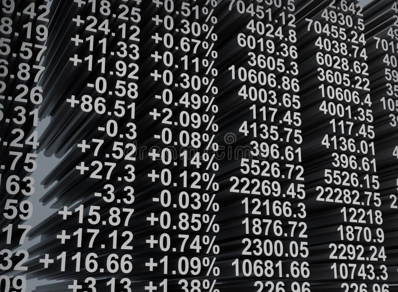 Borsa valori illustrazione vettoriale