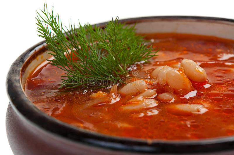 Download Borsch stock image. Image of dish, legumes, dinner, soup - 25169279