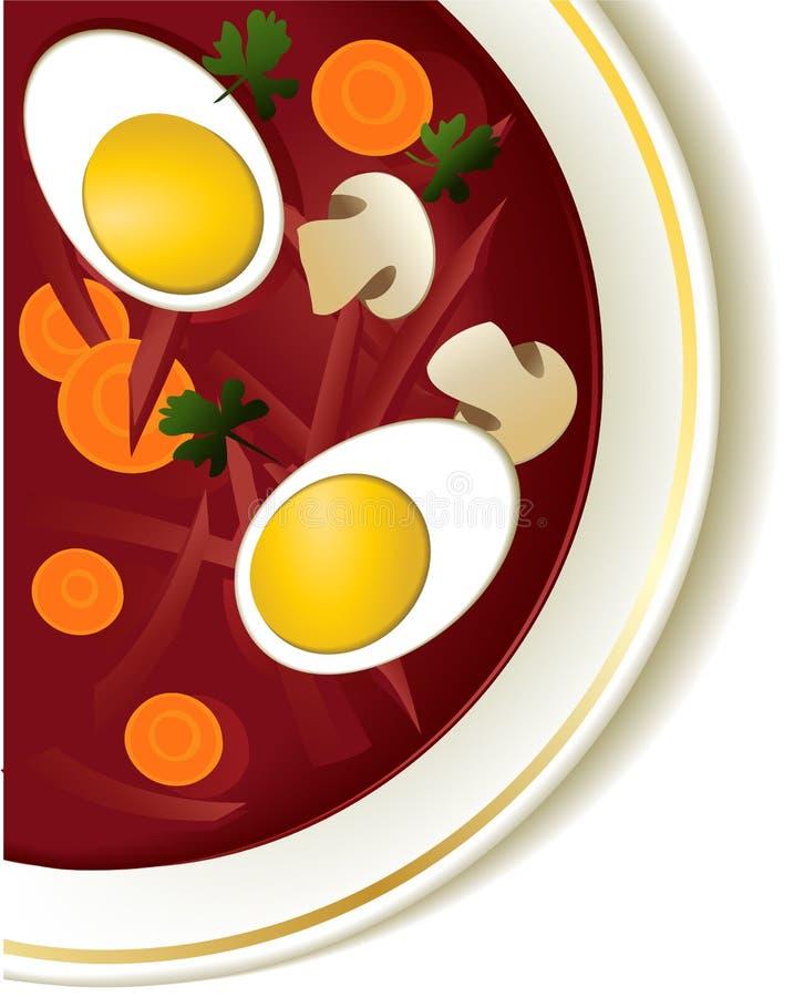 Download Borsch stock vector. Illustration of calorie, borscht - 29594091