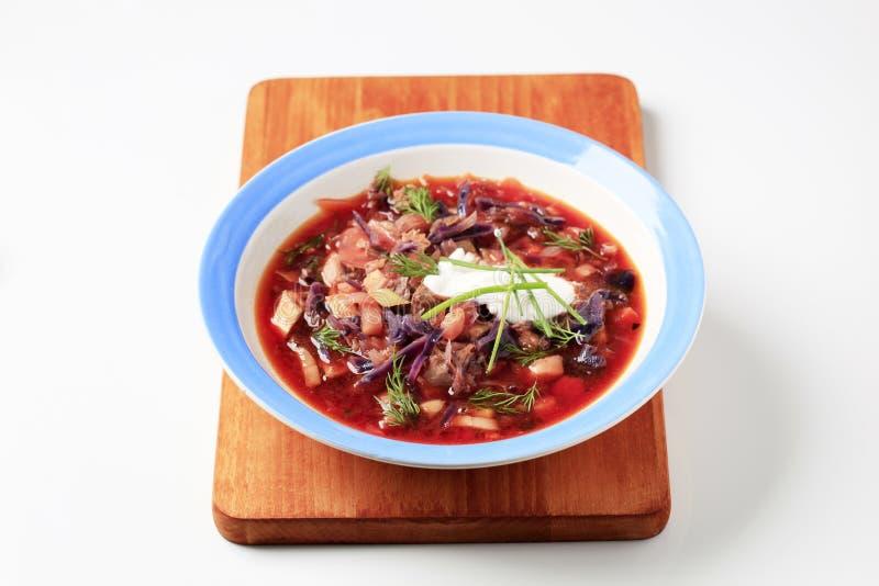 borscht image stock image du chou borscht panneau 13526127. Black Bedroom Furniture Sets. Home Design Ideas