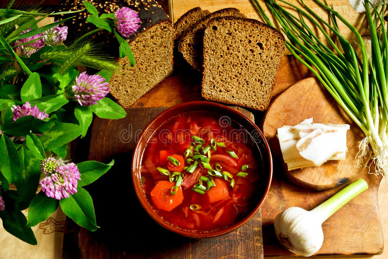 borscht fotografie stock libere da diritti
