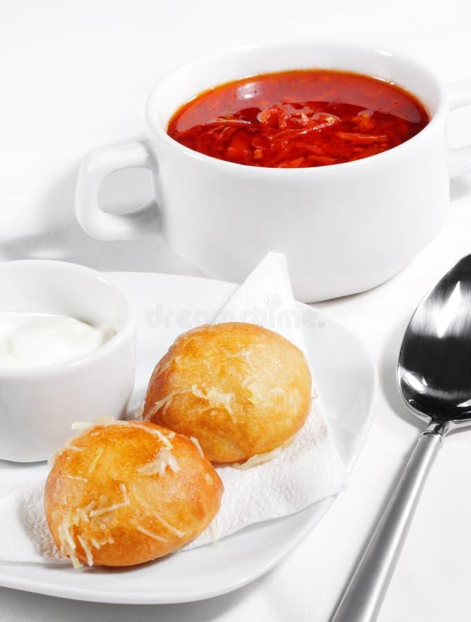 borscht mięso zdjęcie royalty free
