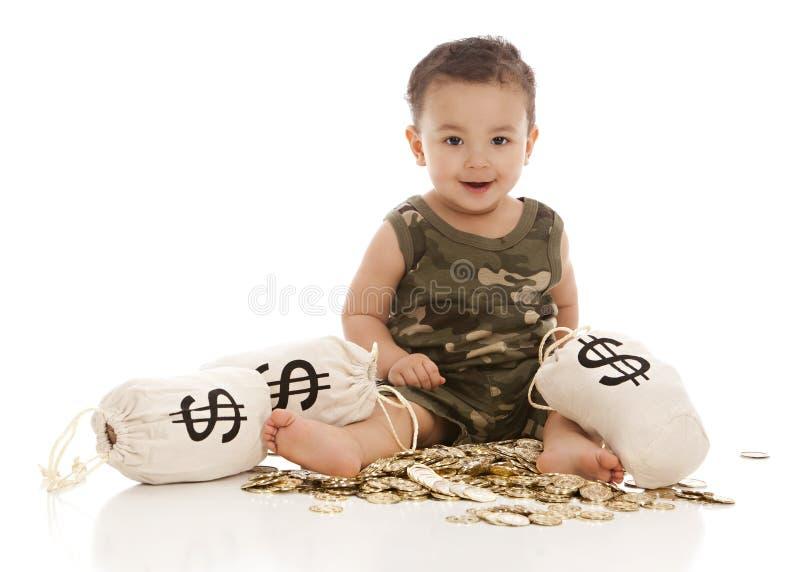 Borse dei soldi! fotografia stock libera da diritti