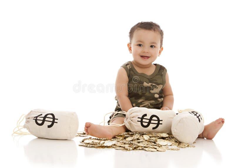 Borse dei soldi! fotografia stock