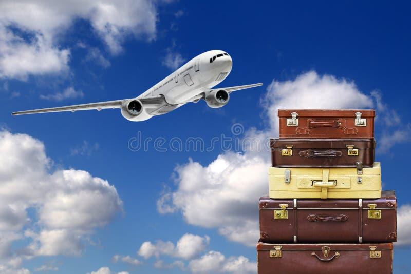 Borse di viaggio immagini stock