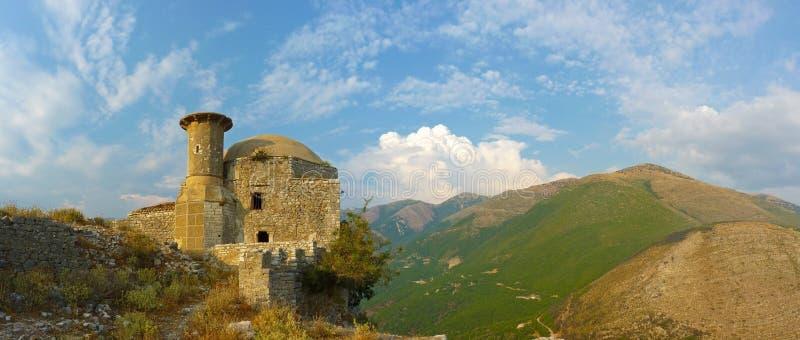 Borsh Castle στοκ εικόνα με δικαίωμα ελεύθερης χρήσης