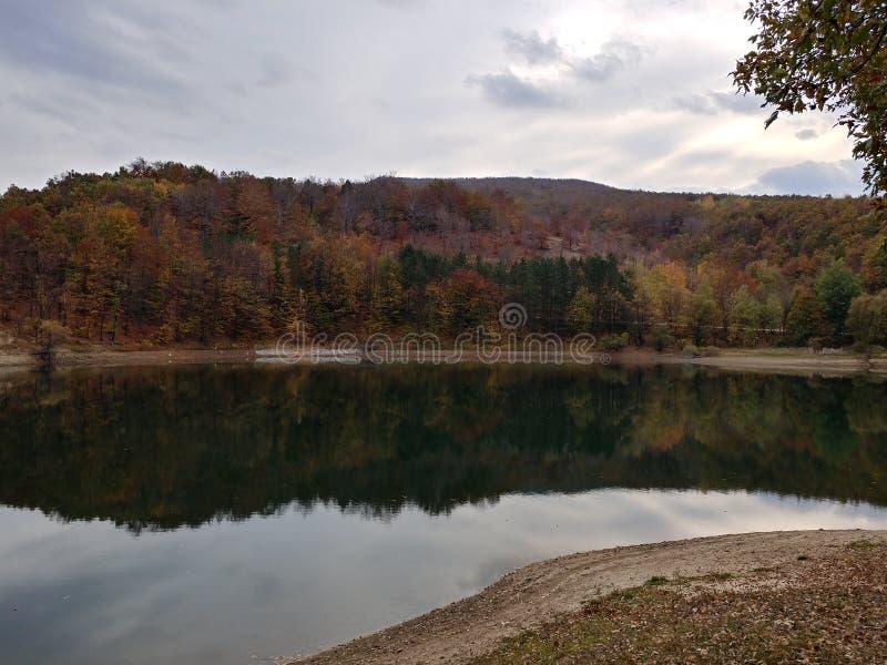Borsko Jezero, Lake near Bor, Serbia royalty free stock photos
