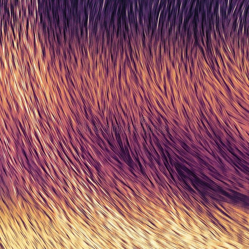Borsta slaglängdkonstverk Grungy vibrerande bakgrund Kanfastryckkonstverk royaltyfri illustrationer