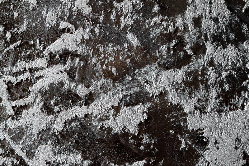 Borstad konstnärlig målarfärg på paneltexturen - nätt abstrakt fotobakgrund arkivfoto