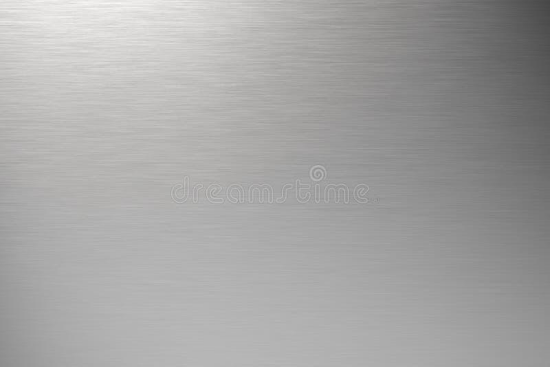 borstad metall arkivfoto