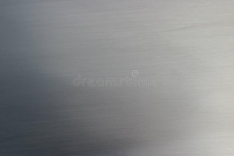 borstad metall arkivbild