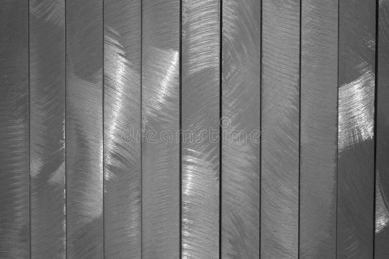 Borstad Metall Royaltyfri Bild