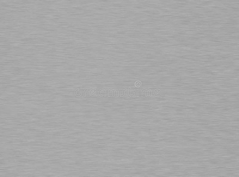 borstad metalltextur royaltyfri bild