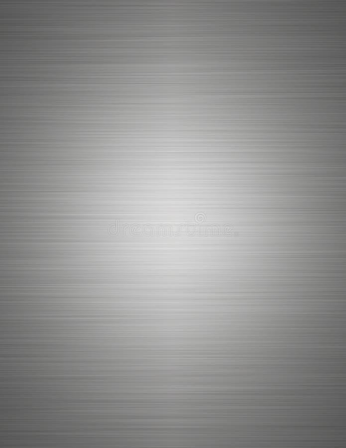 borstat stål royaltyfri illustrationer