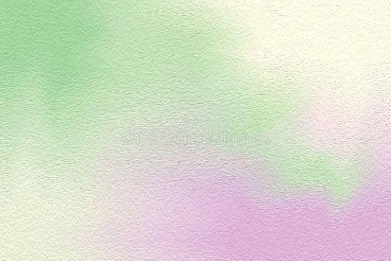 Borste för målarfärg för gräsplan för abstrakt konst färgrik ljus på pappers- texturbakgrund, mång- färgrik färg för vatten för m royaltyfri fotografi