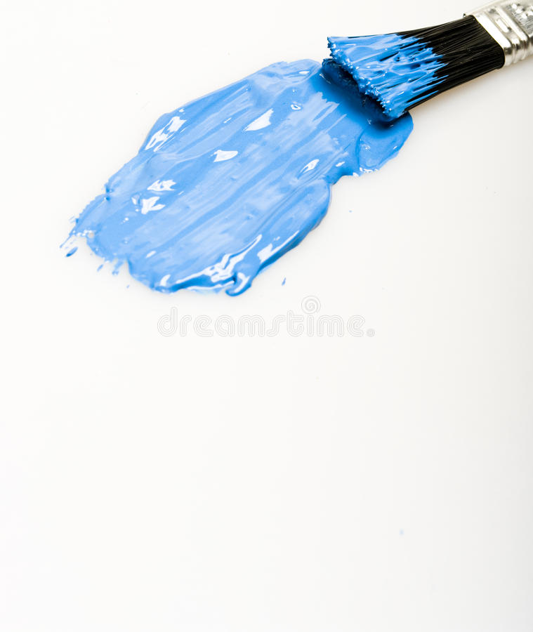 borstemålarfärg arkivfoton