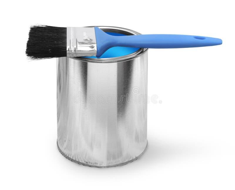 borsten kan måla arkivfoto