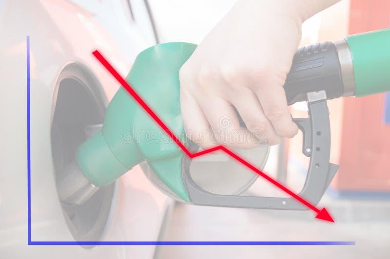 Borsukowaty olej i ropy naftowe obrazy stock