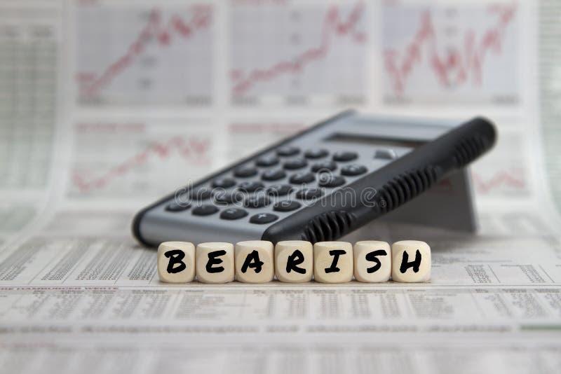Borsukowaty rynek papierów wartościowych zdjęcie stock