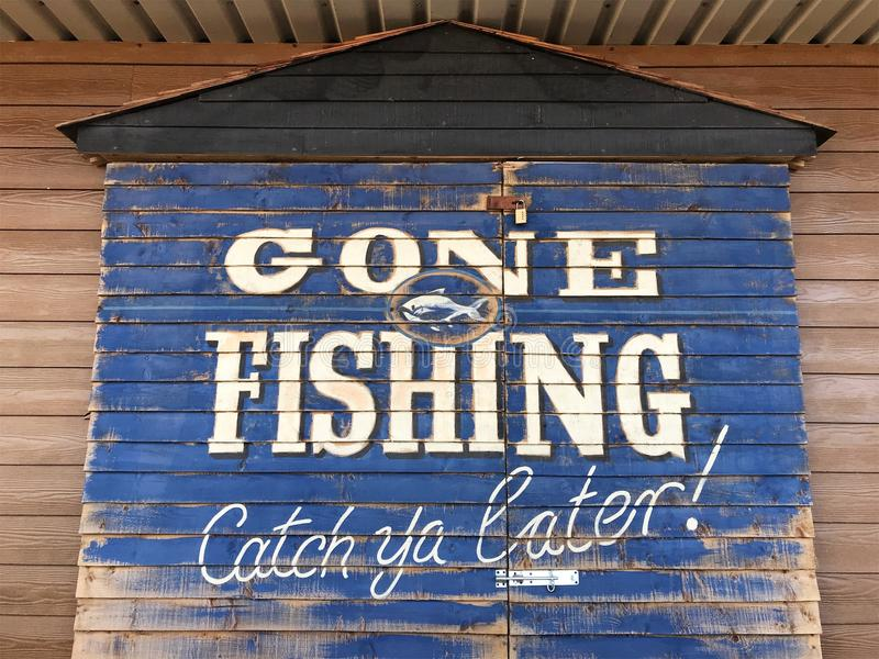 Borta fiske arkivfoto