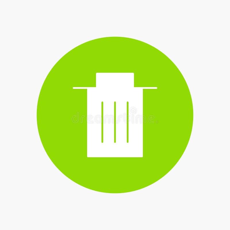 Borttagnings manöverenhet, avfall, användare royaltyfri illustrationer