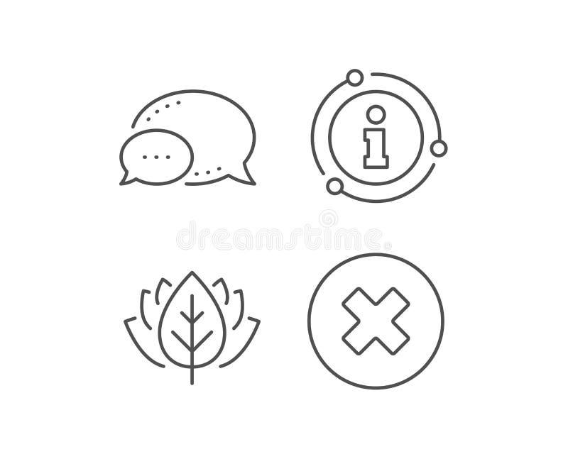 Borttagningslinje symbol Ta bort tecknet vektor stock illustrationer