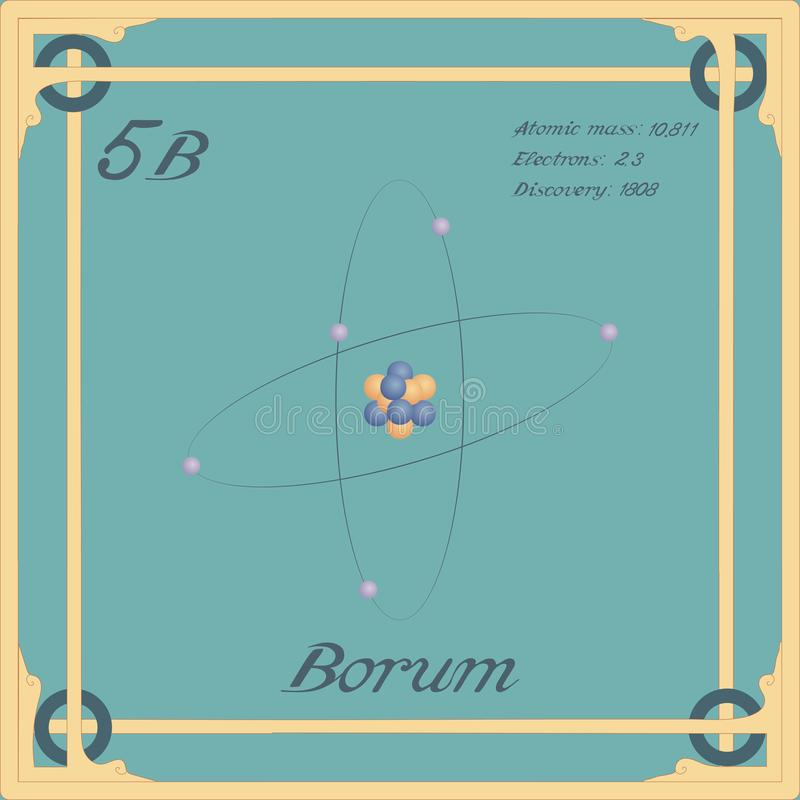 Borum kolorowa ikona ilustracji