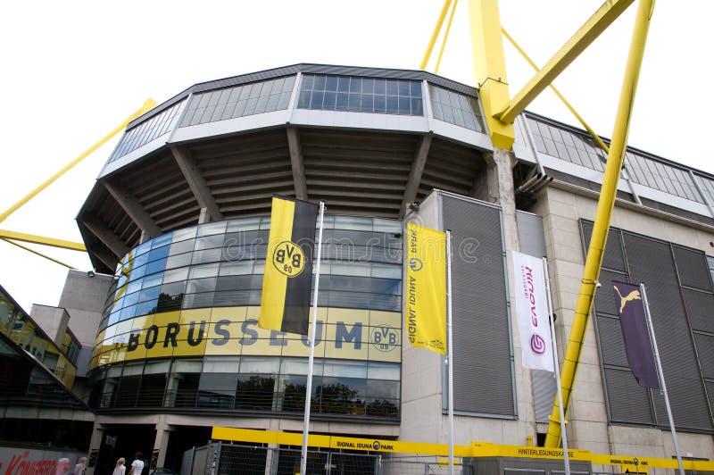 Borussia Dortmund - estádio de Borusseum foto de stock royalty free