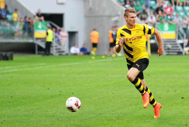 Borussia Dortmund Lukasz Piszczek stock foto