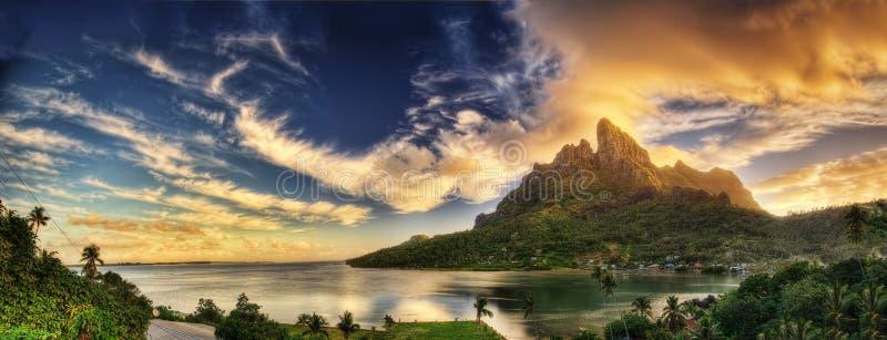 bory francuski Polynesia obrazy stock