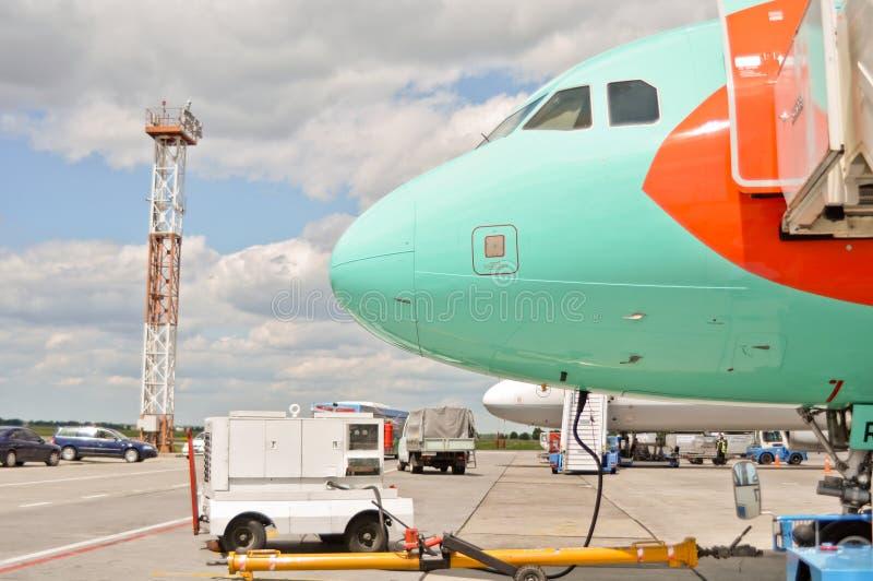 boryspil lotniskowy kyiv fotografia stock