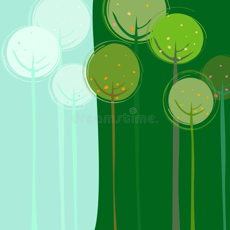 Bos vector illustratie