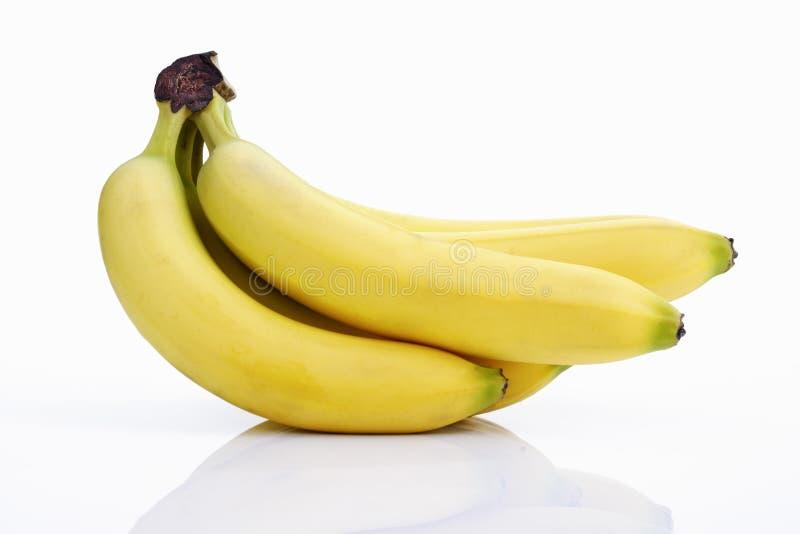 Bos van bananen stock foto's