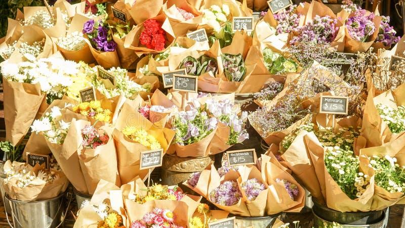 Bos van bloem stock foto's