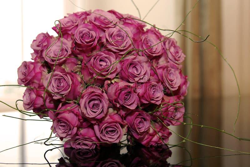 Bos van bloemen royalty-vrije stock foto