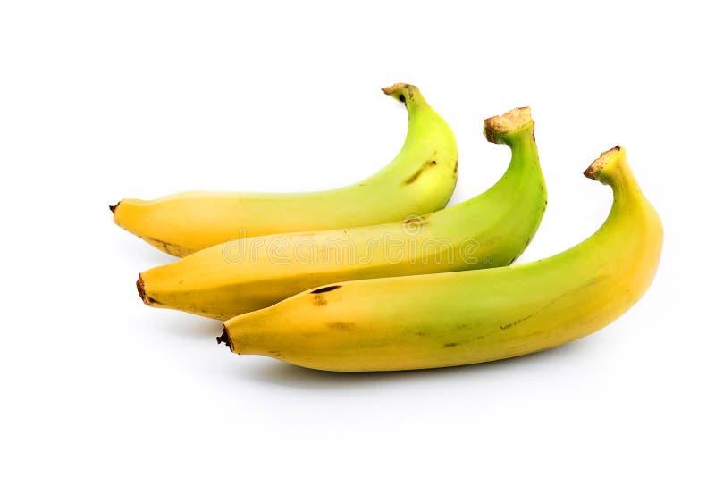 Bos van ruwe organische bananen stock foto's