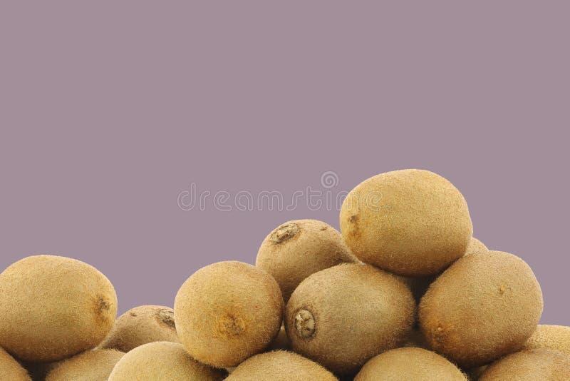 Bos van vers kiwifruit royalty-vrije stock foto