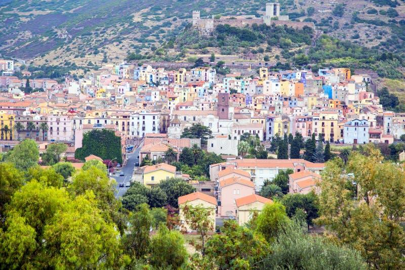 Bosa, Σαρδηνία στοκ εικόνες