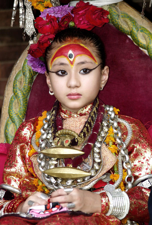 Bosatt gudinna Kumari