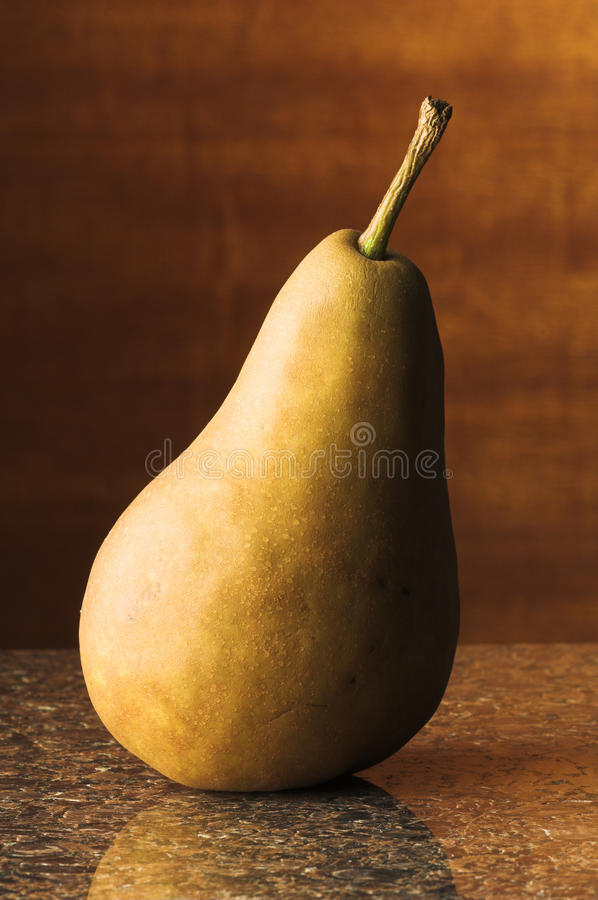 Download Bosc Pear on Granite stock image. Image of yellow, food - 20124575