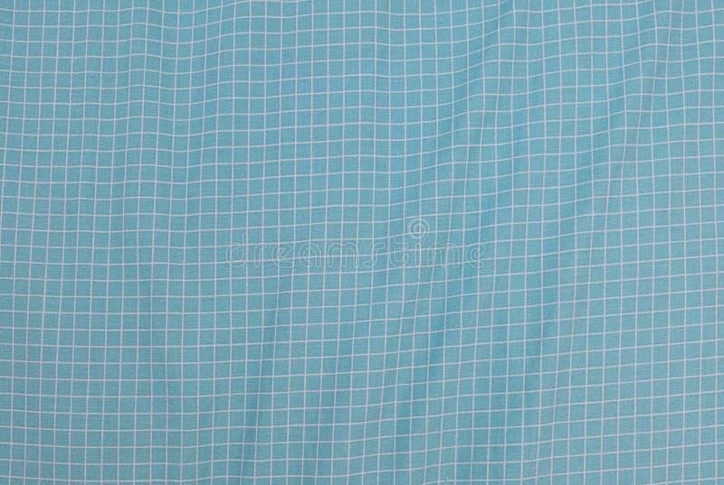 Boscaiolo blu e bianco Plaid Seamless Pattern fotografie stock