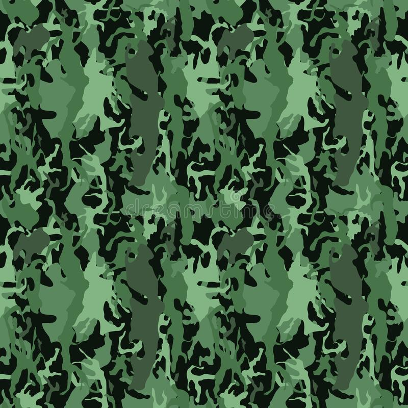 Boscamouflage vector illustratie