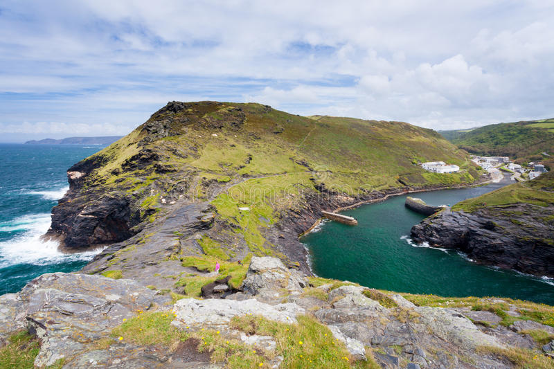 Download Boscastle Cornwall England stock image. Image of outdoors - 25605561