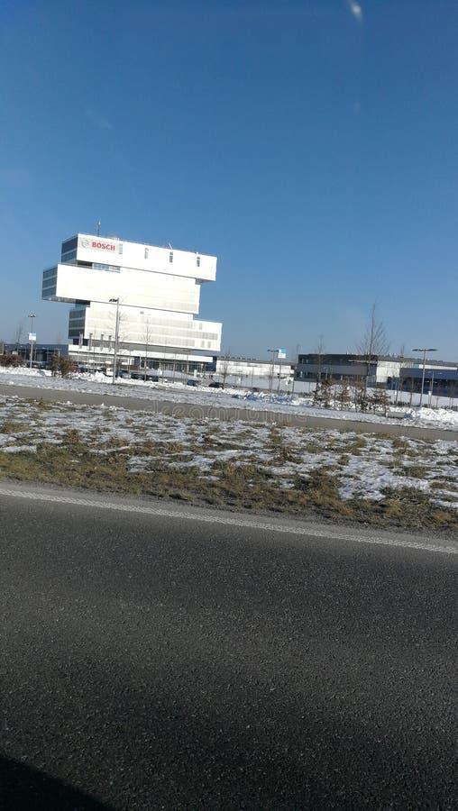 Bosch Renningen budynki obrazy stock