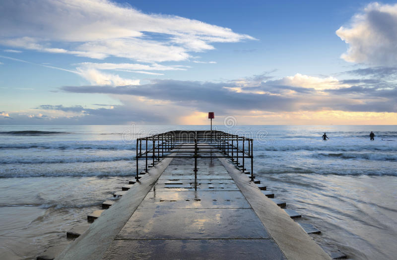 Boscombe Jetty Royalty Free Stock Image