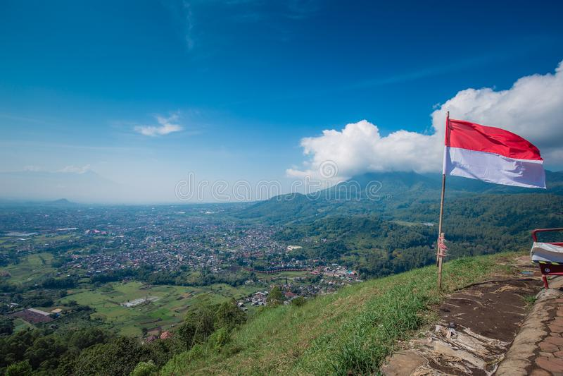 Bosgebied van Batu, Indonesië stock foto's