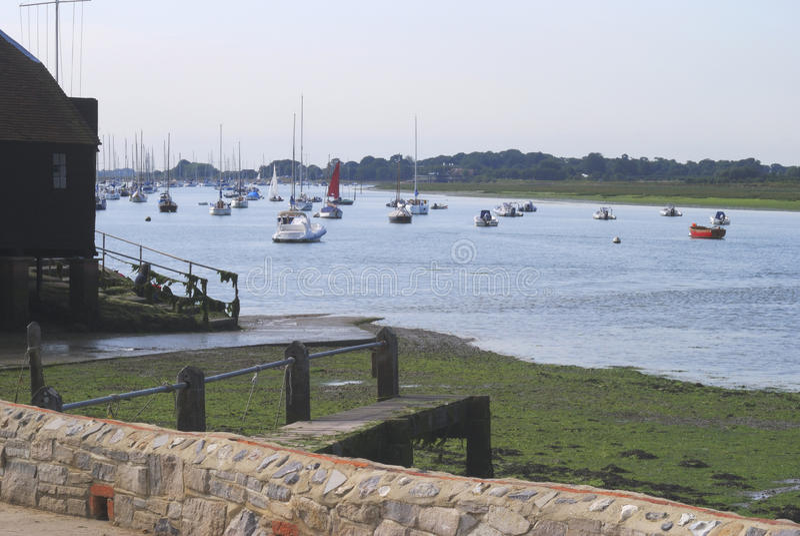 Bosham. Västra Sussex. England royaltyfri foto