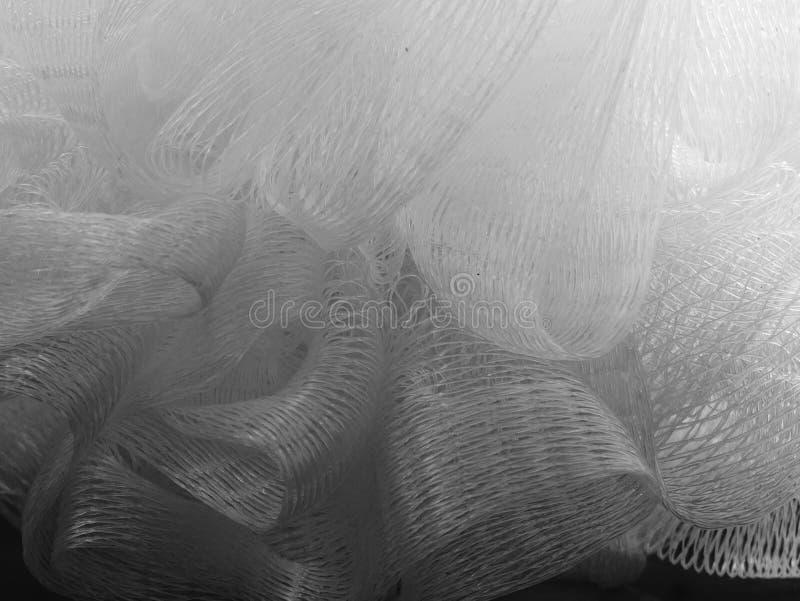 Bosje van basttextuur De zorg van de ruwe, bellendouche stock foto's