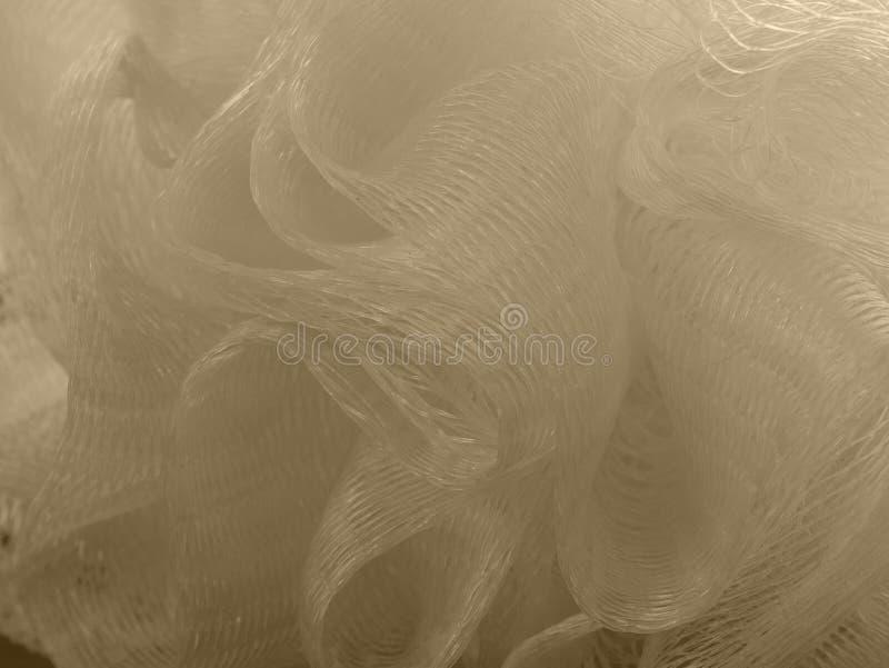 Bosje van basttextuur De zorg van de ruwe, bellendouche royalty-vrije stock foto's