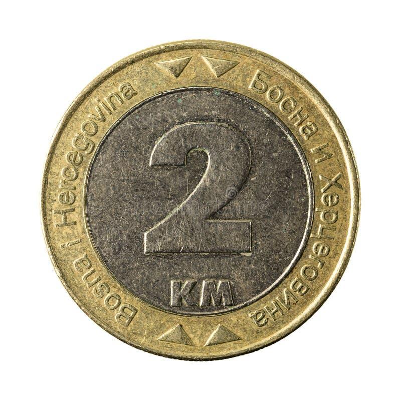 2 bosnia and herzegovina convertible mark coin 2003 obverse royalty free stock photography